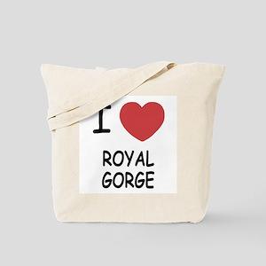I heart royal gorge Tote Bag