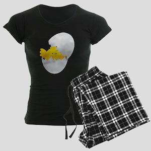 Little Chick Women's Dark Pajamas