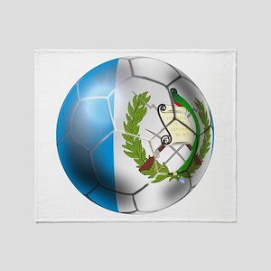 Guatemala Football Throw Blanket