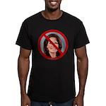 No Michele 2012 Men's Fitted T-Shirt (dark)