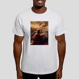 Turbulent Waters Ash Grey T-Shirt