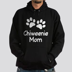 Cute Chiweenie Mom Hoodie (dark)