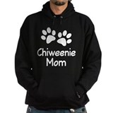 Chiweenie mom Dark Hoodies