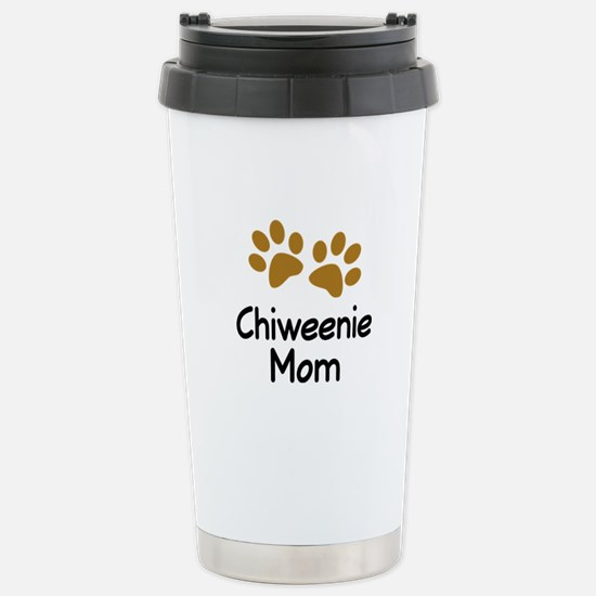 Cute Chiweenie Mom Stainless Steel Travel Mug