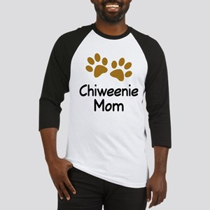 Cute Chiweenie Mom Baseball Jersey