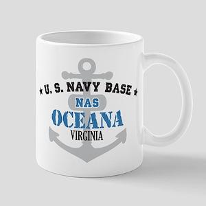 US Navy Oceana Base Mug