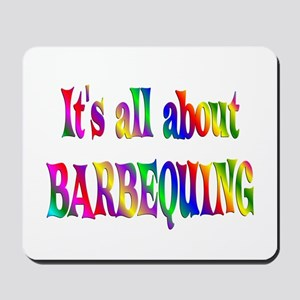 About Barbequing Mousepad