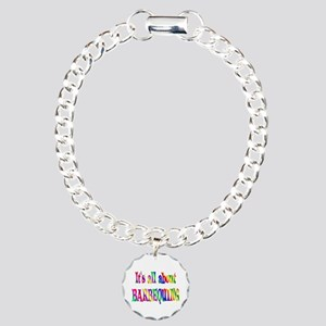 About Barbequing Charm Bracelet, One Charm