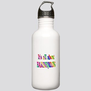 About Barbequing Stainless Water Bottle 1.0L