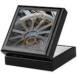 Goldfield Ghost Wagon Wheel - Keepsake Box