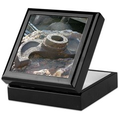 Goldfield Ghost Ore Hammer - Keepsake Box