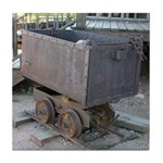 Goldfield Ghost Town Ore Cart - Tile Coaster
