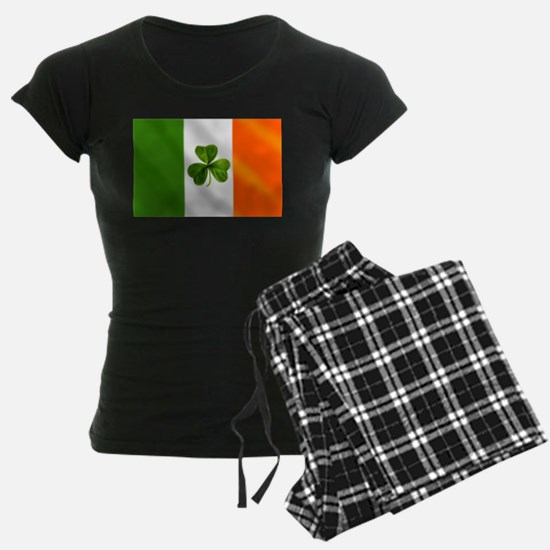 Irish Shamrock Flag pajamas