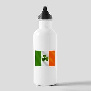 Irish Shamrock Flag Stainless Water Bottle 1.0L