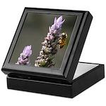 Bee on Lavender -Keepsake Box