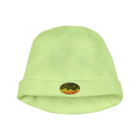 Brook Trout Fly Fishing baby hat