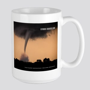 Tornado - Twister 1 Large Mug