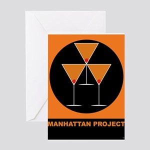 Manhattan Project Greeting Card