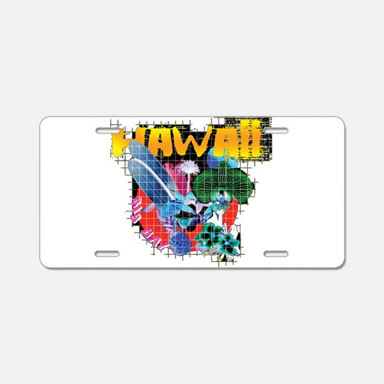 Hawaii Graphic Aluminum License Plate