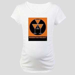 Manhattan Project Maternity T-Shirt