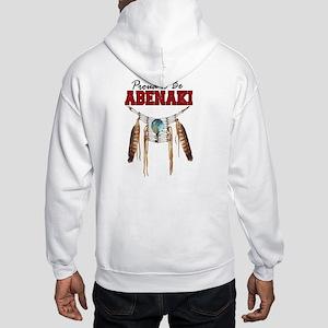 Proud to be Abenaki Hooded Sweatshirt