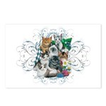 Cuddly Kittens Postcards (Package of 8)