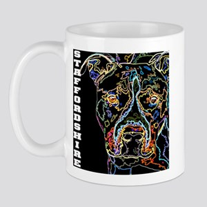 neon staffordshire 12x12 Mugs