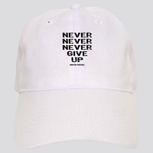 Never Give Up Cap