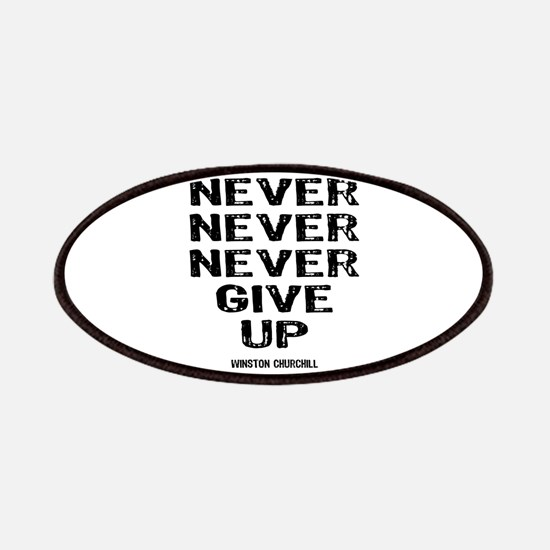 Never Give Up Patches