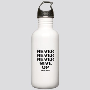 Never Give Up Stainless Water Bottle 1.0L