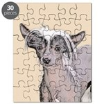 Chinese Crested (Hairless) Puzzle