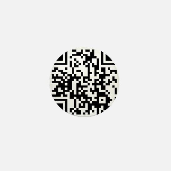 Bar Code Scanner Mini Button