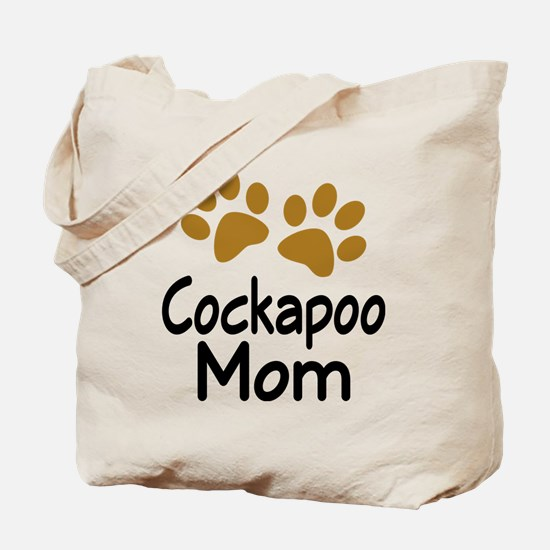Cute Cockapoo Mom Tote Bag