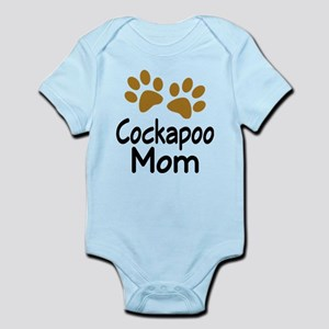 Cute Cockapoo Mom Infant Bodysuit