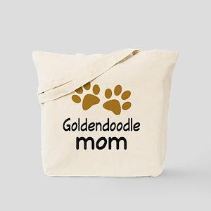 Cute Goldendoodle Mom Tote Bag