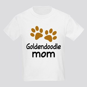 Cute Goldendoodle Mom Kids Light T-Shirt