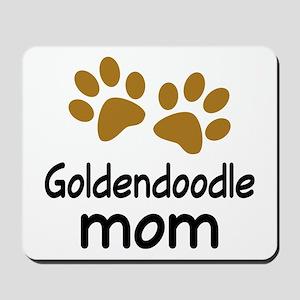 Cute Goldendoodle Mom Mousepad