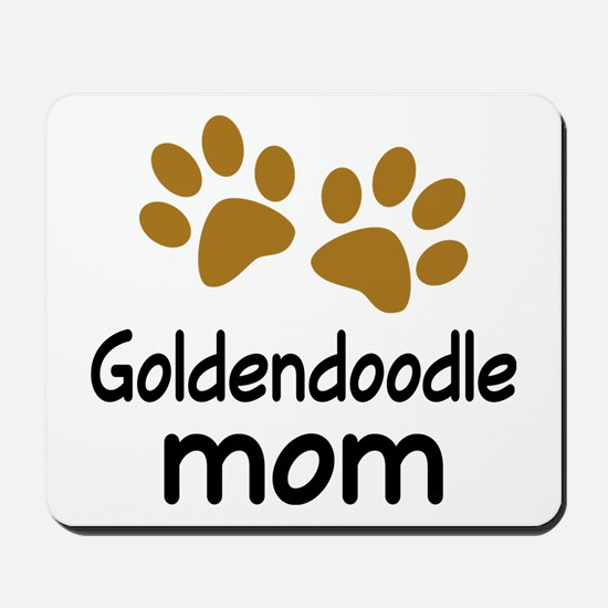 Cute Goldendoodle Mom Mousepad