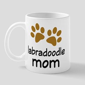 Cute Labradoodle Mom Mug