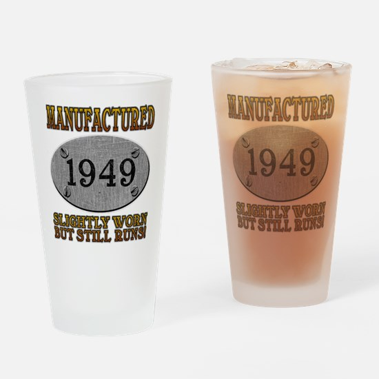 Manufactured 1949 Pint Glass