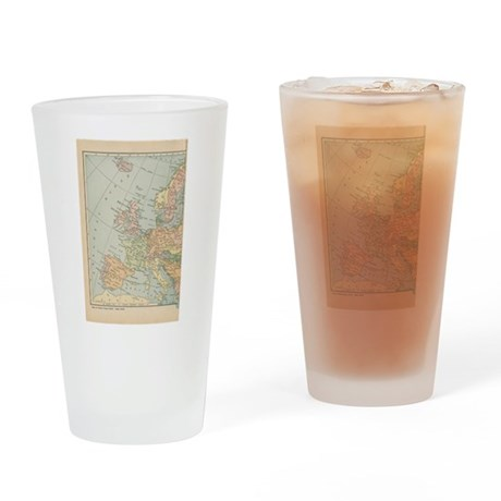 Europe - Pint Glass