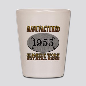 Manufactured 1953 Shot Glass