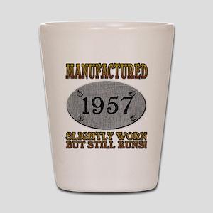 Manufactured 1957 Shot Glass