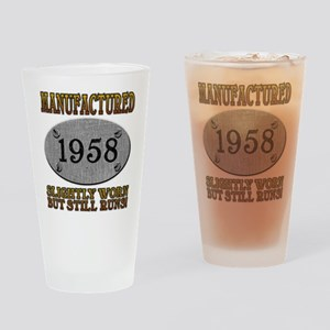 Manufactured 1958 Pint Glass