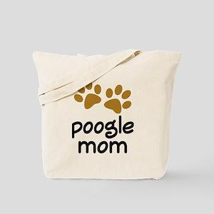 Cute Poogle Mom Tote Bag