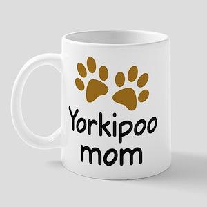 Cute Yorkipoo Mom Mug