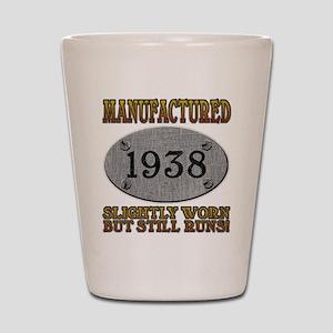 Manufactured 1938 Shot Glass