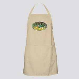 Brown Trout Fly Fishing Apron