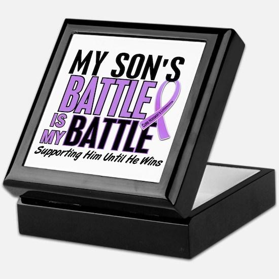 My Battle Too Hodgkin's Lymphoma Keepsake Box