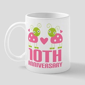 Tenth Anniversary Gift Mug